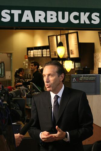 Biografi Howard Schultz Ceo Starbucks
