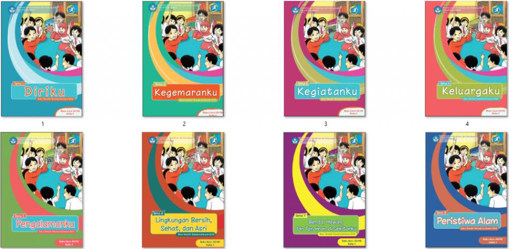 buku sd/mi kurikulum 2013