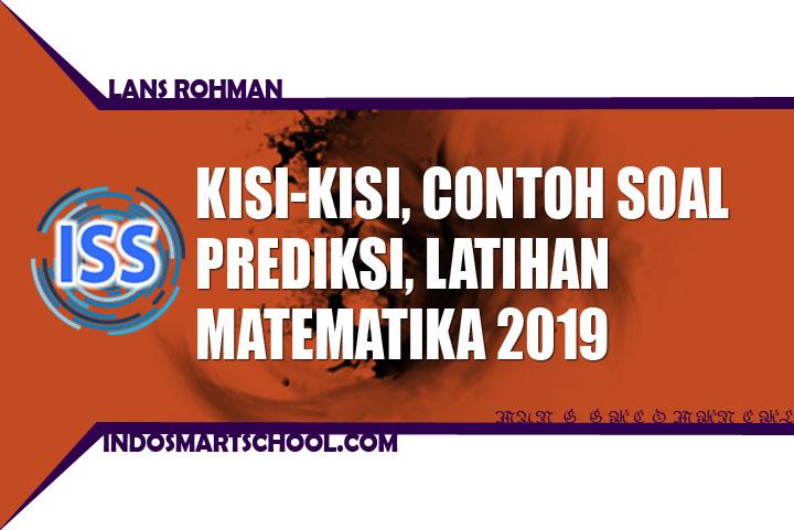 Soal Latihan Prediksi pembahasan dan Contoh Soal UNBK SMK Matematika Tahun 2018 2019
