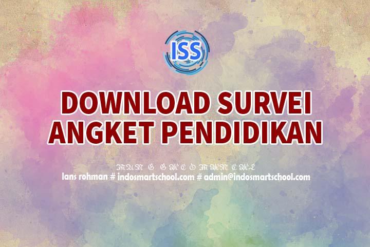 Download Survei Angket Pendidikan Indo Smart School Lans Rohman