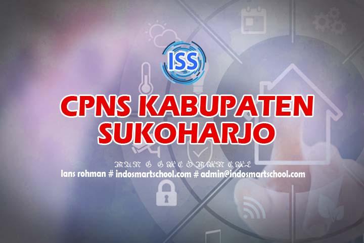 Formasi Lowongan Jadwal dan Panduan CPNS Kab Sukoharjo 2019