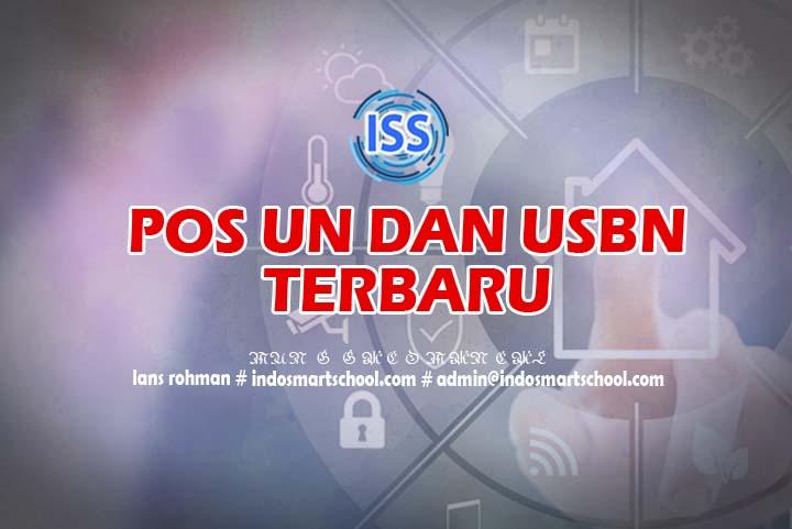Pos UN dan USBN 2017 2018 2019 2020 2021 Terbaru PDF Indo Smart School