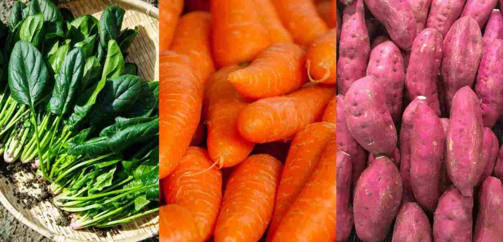 Buah dan Sayur yang mengandung Vitamin A