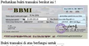 Buktri Transfer Soal UNBK SMK Jurusan Akuntansi