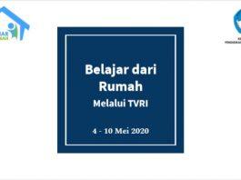 Download Panduan Pembelajaran Belajar dari Rumah di TVRI 4-10 Mei 2020