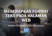 MENERAPKAN FORMAT TEKS PADA HALAMAN WEB