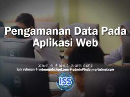 Pengamanan Data Pada Aplikasi Web