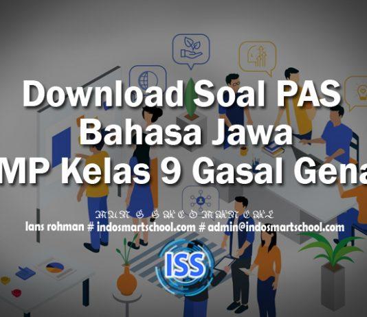 Download Soal PAS Bahasa Jawa SMP Kelas 9 Gasal Genap