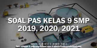 SOAL PENILAIAN AKHIR TAHUN KELAS IX TAHUN PELAJARAN 2019,2020,2021