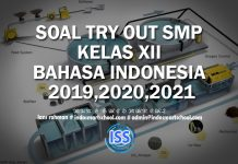 SOAL TRY OUT SMP KELAS XII BAHASA INDONESIA 2019,2020,2021