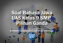 Soal Bahasa Jawa UAS Kelas 9 SMP Pilihan Ganda