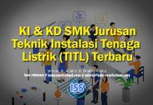 KI & KD SMK Jurusan Teknik Instalasi Tenaga Listrik (TITL) Terbaru