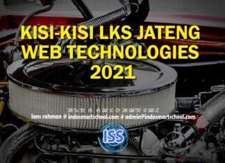 KISI-KISI LKS JATENG WEB TECHNOLOGIES 2021