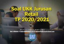 Soal UKK Jurusan Retail TP 2020/2021