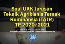 Soal UKK Jurusan Teknik Agribisnis Ternak Ruminansia (TATR) TP 2020/2021