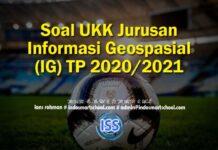 Soal UKK Jurusan Informasi Geospasial (IG) TP 2020/2021