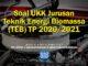 Soal UKK Jurusan Teknik Energi Biomassa (TEB) TP 2020/2021