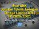Soal UKK Jurusan Teknik Jaringan Tenaga Listrik (TJTL) TP 2020 2021